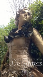 Golden Lady Statue