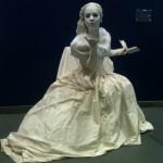 Delighters White Statue